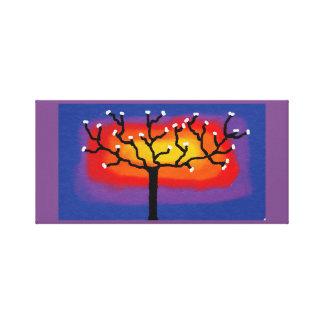 colourful tree canvas
