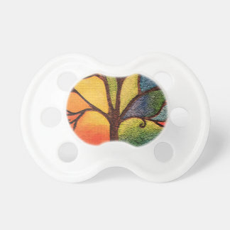 Colourful Tree Pacifier