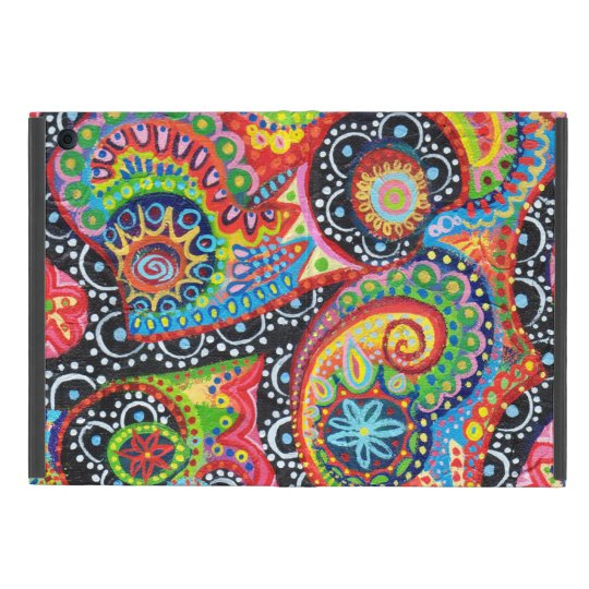 Colourful Tribal Abstract iPad Mini Case with