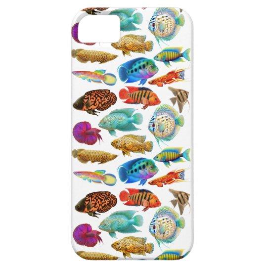 Colourful Tropical Aquarium Fish iPhone Case