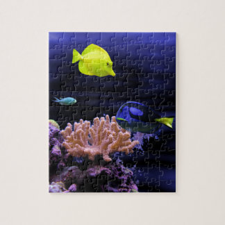 Colourful Tropical Fish Jigsaw Puzzle
