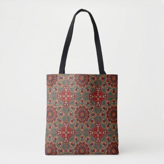 Colourful Two Sided Mandala Bag