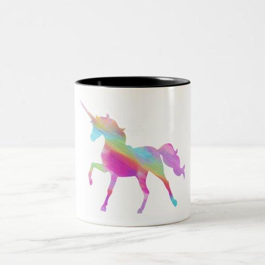 Colourful Unicorn Mug