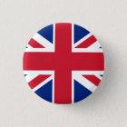 Colourful Union Jack 3 Cm Round Badge