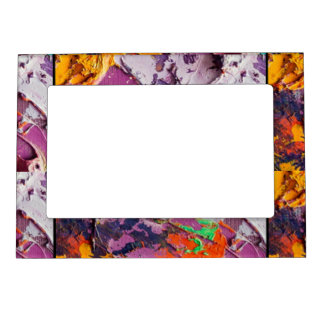 Colourful unique art of colours  Magnetic Frame