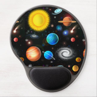 Colourful Universe Astronomy Space Gel Mousepad Gel Mouse Mat