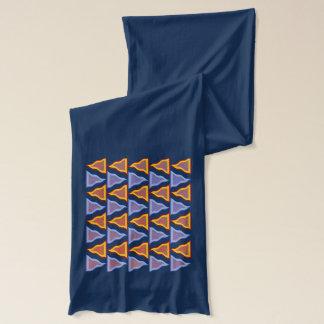 Colourful vertigo scarf