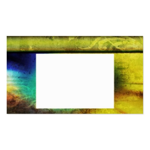 Colourful Vintage Background Pack Of Standard Business Cards