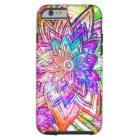 Colourful Vintage Floral Pattern Drawing Tough iPhone 6 Case