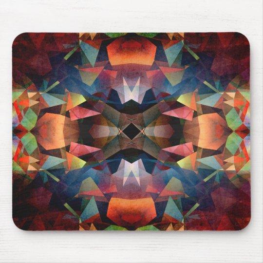 Colourful Vintage Mandala Mouse Mat