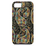 Colourful Vintage Ornate Paisley Design iPhone 5 Case