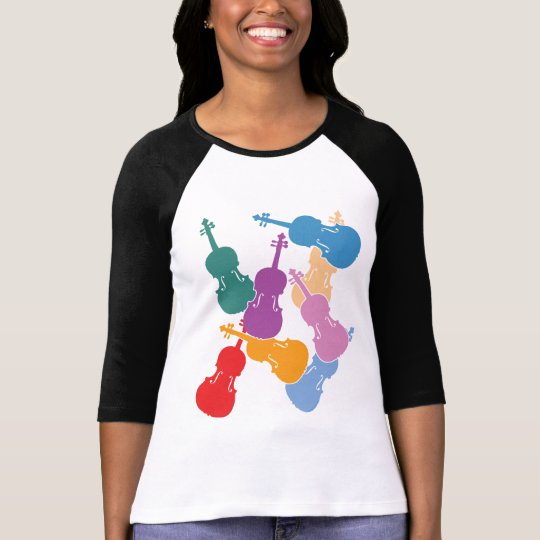 Colourful Violas T-Shirt