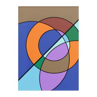 Colourful wall art