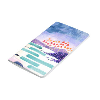 Colourful Watercolour Painting Pocket Journal