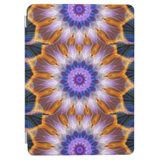 Colourful waves iPad air cover