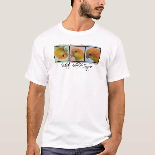 Colourful White Bellied Caique T-Shirt