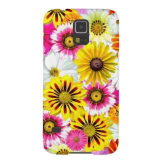 Colourful Wildflowers Print Cellphone Case Galaxy S5 Cases