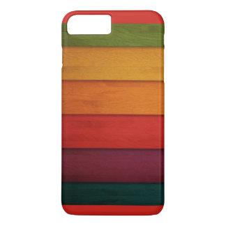 Colourful Wooden Planks iPhone 8 Plus/7 Plus Case