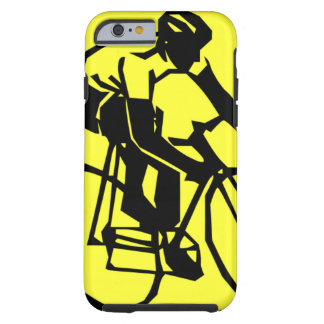 Colourful Yellow Bike Bicycle Tough iPhone 6 Case