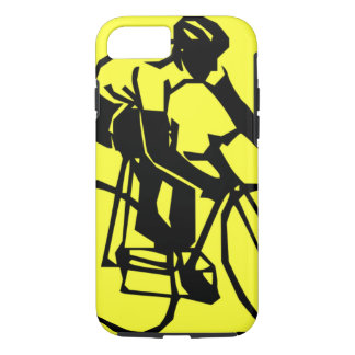 Colourful Yellow Bike Bicycle iPhone 8/7 Case