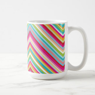 Colourful Zig Zag Mug