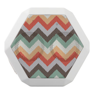 Colourful zigzag stripes