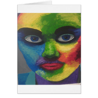 colourfull exsplosion card