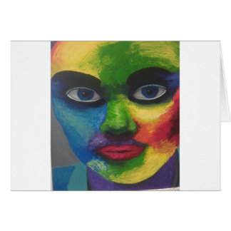 colourfull exsplosion greeting card