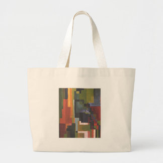 Colourfull shapes by August Macke Jumbo Tote Bag