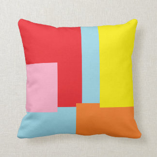 Colourfully Abstract Cushion