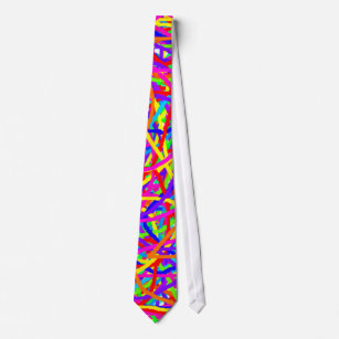 Colourfully Striped Tie