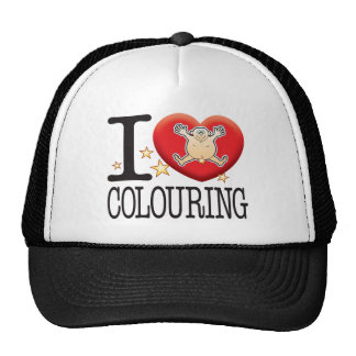 Colouring Love Man Cap