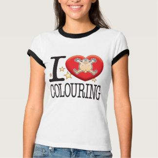 Colouring Love Man T-Shirt
