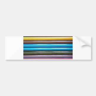 Colouring Pencils Bumper Sticker