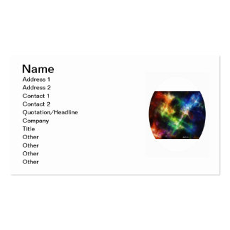 Colours 1 pack of standard business cards