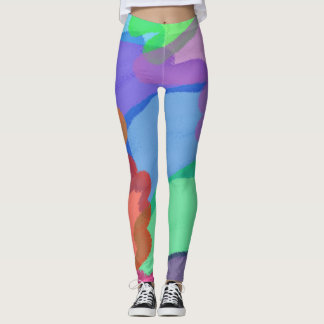 Colours Abstract Leggings