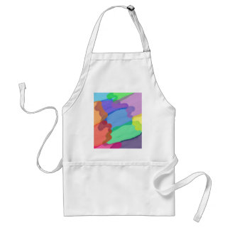 Colours Abstract Standard Apron