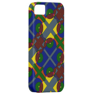 Colours and shapes phone cover