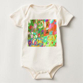 colours baby bodysuit