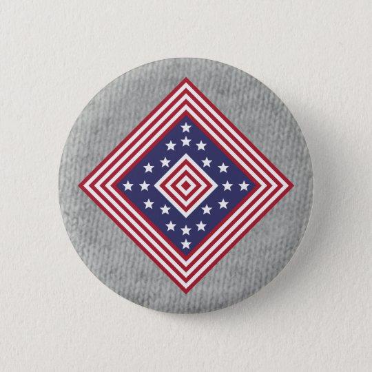 Colours Badge: America 6 Cm Round Badge