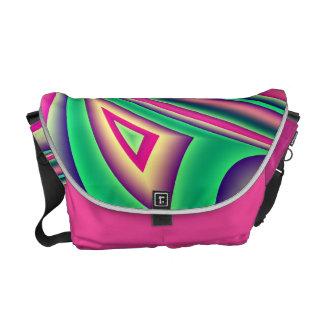 Colours, fractal art designer bag commuter bag
