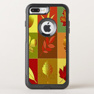Colours in autumn OtterBox commuter iPhone 8 plus/7 plus case
