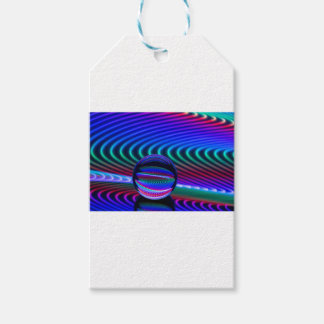 Colours in the glass gift tags