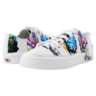 Colours in the wind laceup shoes printed shoes