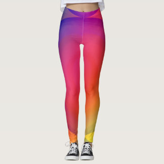 Colours Of A Cell Leggings