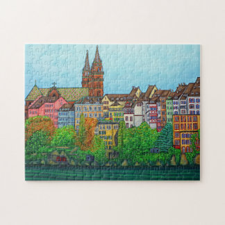 Colours of Basel 11x14 Puzzle with Gift Box
