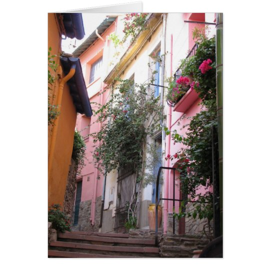 Colours of Collioure Card