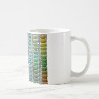 Colours of cotton basic white mug