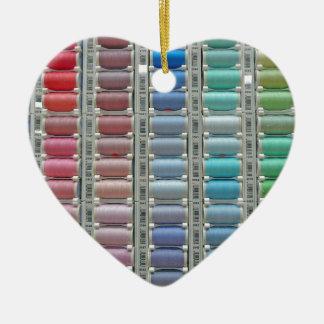Colours of cotton christmas ornament