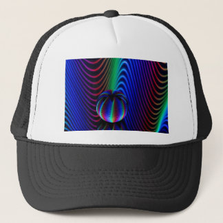 Colours of crystal trucker hat